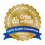 safe sleep champion badge
